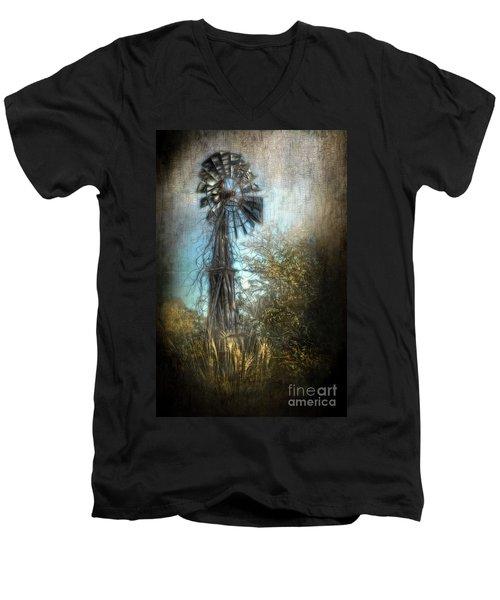 The Old Windmill Men's V-Neck T-Shirt
