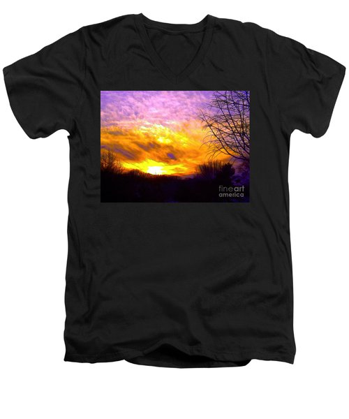 The Other Side Of The Rainbow Men's V-Neck T-Shirt
