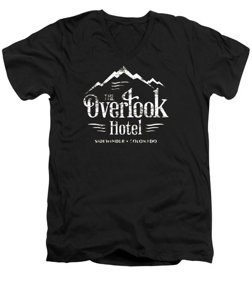 The Overlook Hotel Men's V-Neck T-Shirt