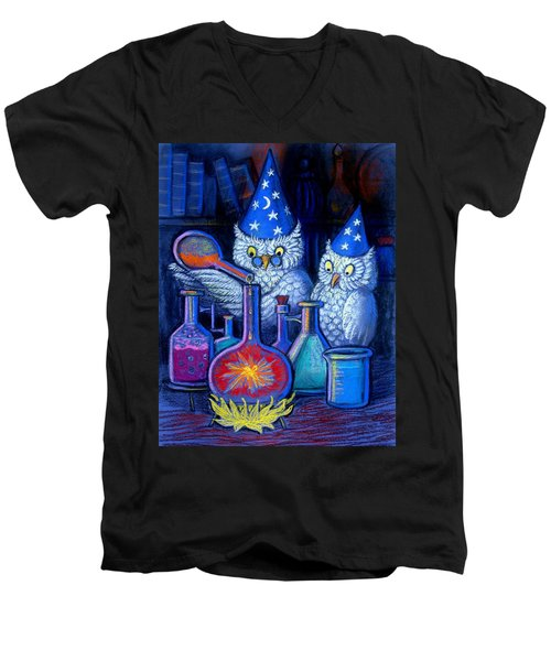 The Owl Chemists Men's V-Neck T-Shirt