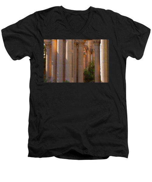 The Palace Columns Men's V-Neck T-Shirt