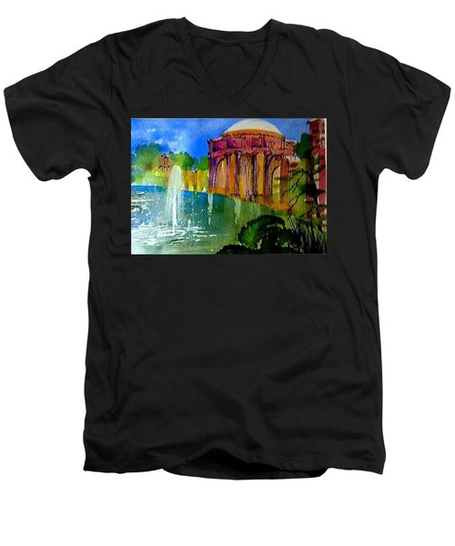 The Palace  In Miniature Men's V-Neck T-Shirt