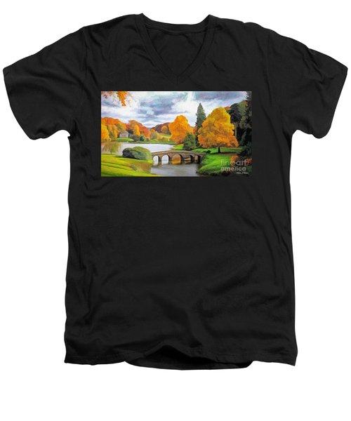 The Pantheon Men's V-Neck T-Shirt