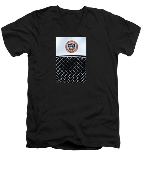 The Panther Car Company Men's V-Neck T-Shirt by Theresa Tahara