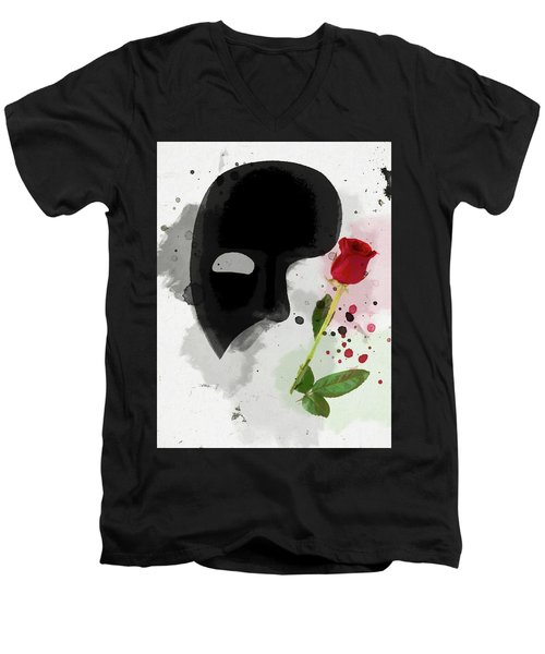 The Phantom Of The Opera Men's V-Neck T-Shirt