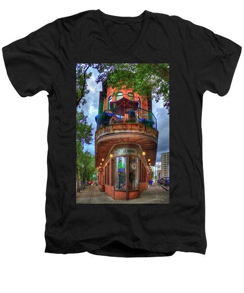 The Pickle Barrel Chattanooga Tn Art Men's V-Neck T-Shirt