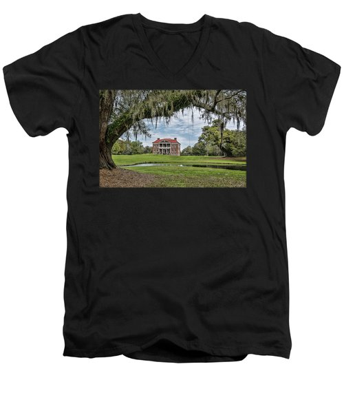The Plantation Men's V-Neck T-Shirt