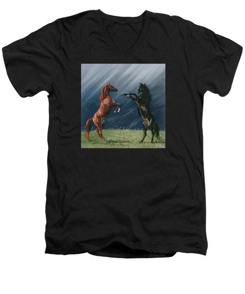 The Pledge Men's V-Neck T-Shirt