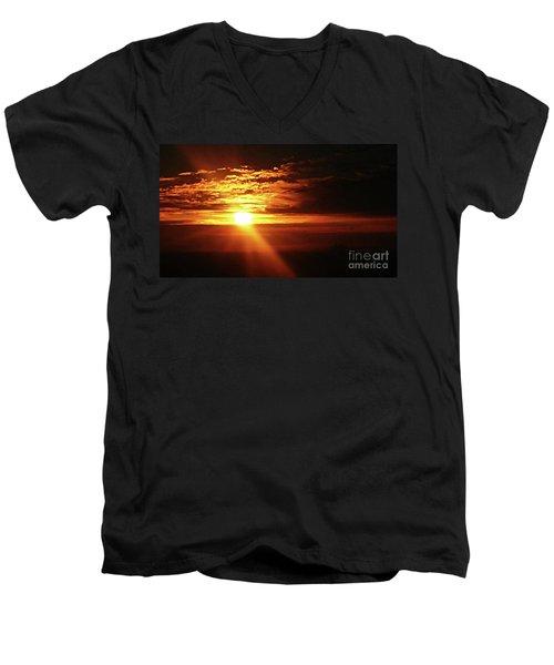 The Promise Men's V-Neck T-Shirt by J L Zarek