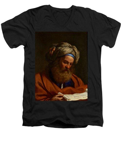 The Prophet Isaiah Men's V-Neck T-Shirt
