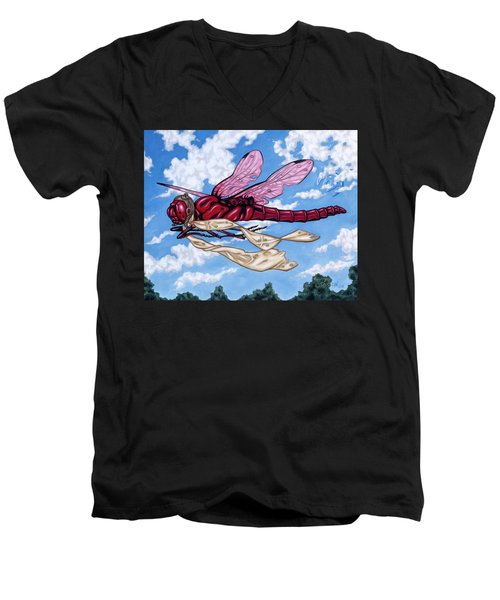 The Red Baron Men's V-Neck T-Shirt