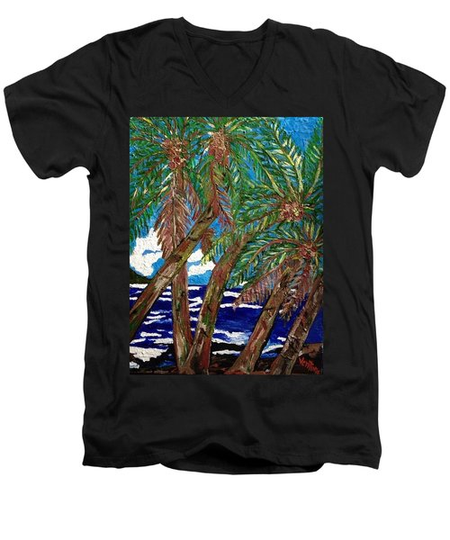 The Ride To Opihikao Men's V-Neck T-Shirt
