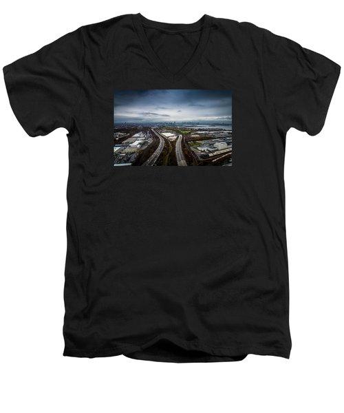 The Road Ahead Men's V-Neck T-Shirt
