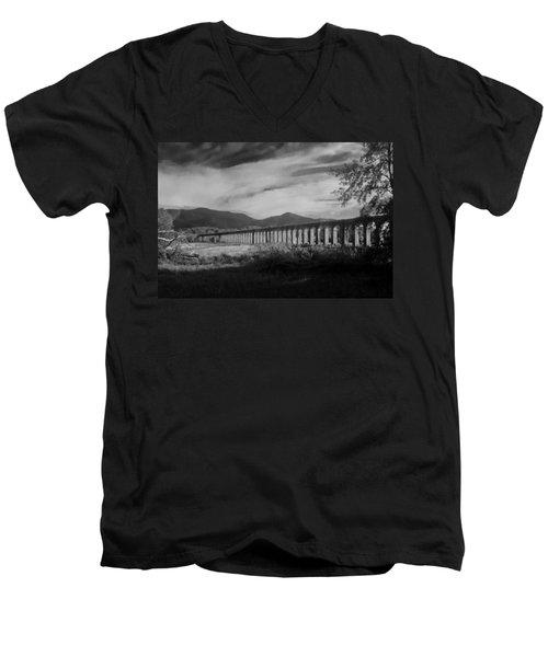 The Roman Aqueducts Men's V-Neck T-Shirt
