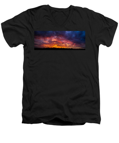 The Sentinel's Surprise Men's V-Neck T-Shirt