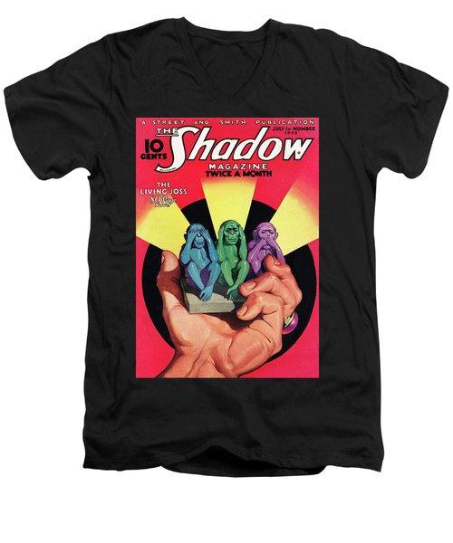 The Shadow The Living Joss Men's V-Neck T-Shirt