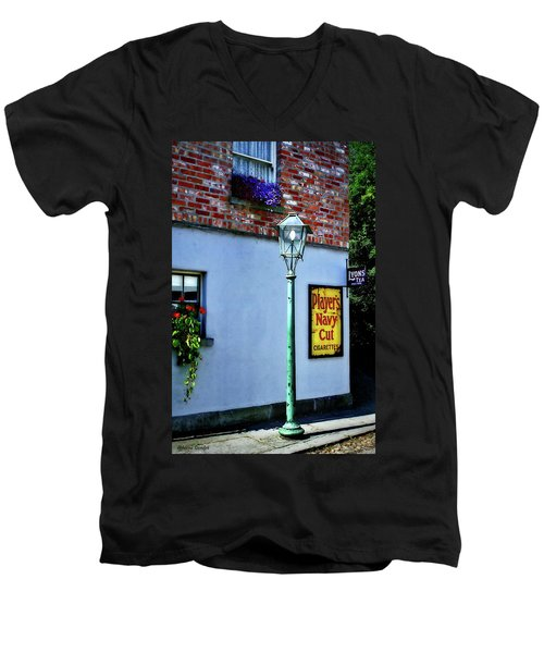 The Shops At Bunratty Castle Men's V-Neck T-Shirt