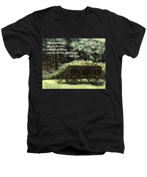 The Simple Things Men's V-Neck T-Shirt