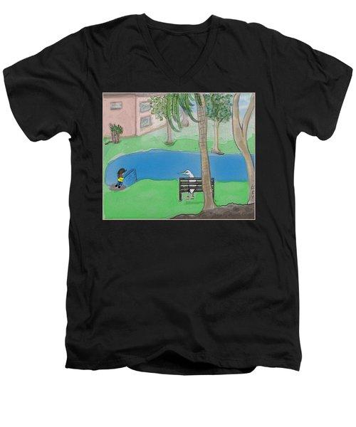 The Sitter Men's V-Neck T-Shirt