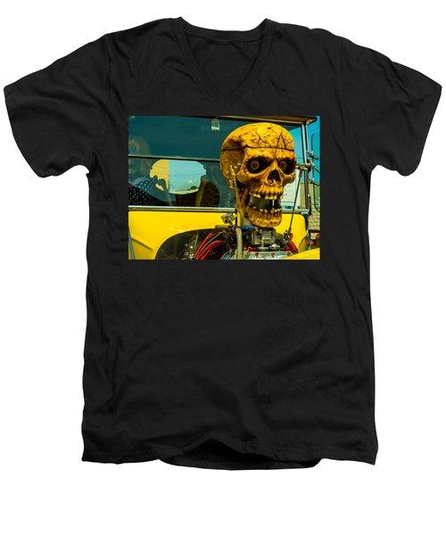 The Skull Men's V-Neck T-Shirt