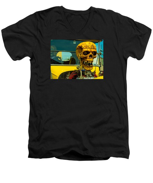 The Skull Men's V-Neck T-Shirt