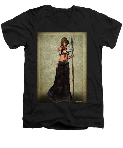 The Sorceress Mage Men's V-Neck T-Shirt