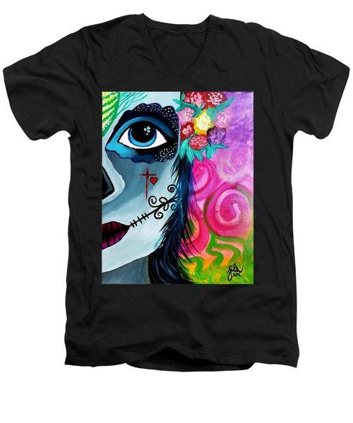 The Spirit Of Jezebel Men's V-Neck T-Shirt
