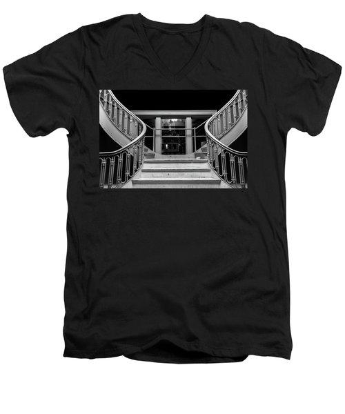 The Stairwell Men's V-Neck T-Shirt