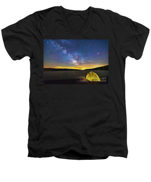 Stellar Camp Men's V-Neck T-Shirt