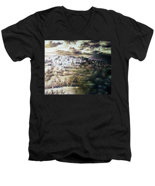 The Storm Men's V-Neck T-Shirt