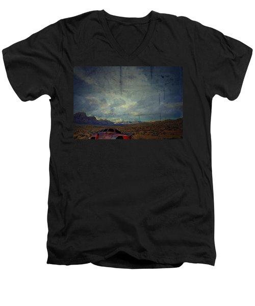 The Story Goes On  Men's V-Neck T-Shirt