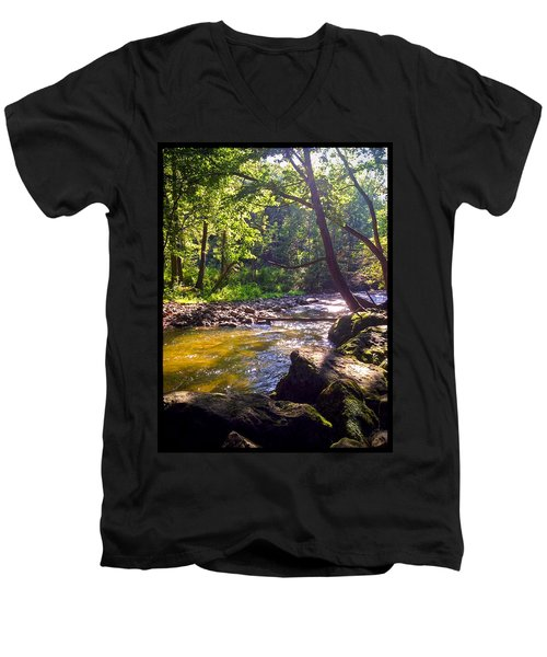The Stream Men's V-Neck T-Shirt