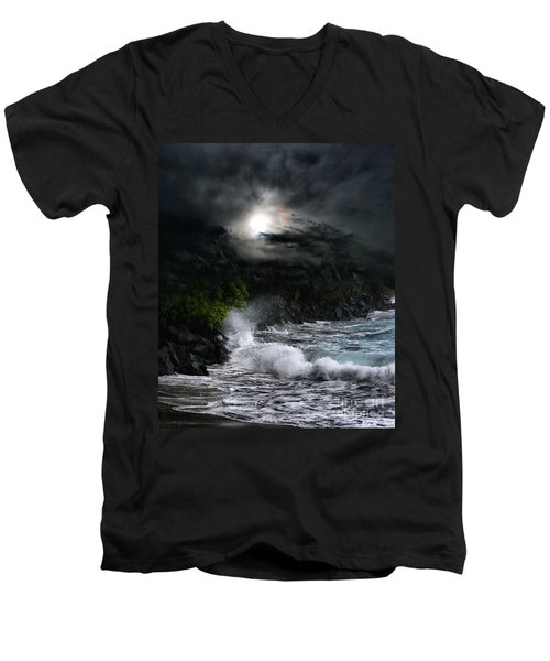 The Supreme Soul Men's V-Neck T-Shirt by Sharon Mau