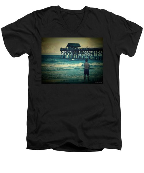 The Surfer Men's V-Neck T-Shirt