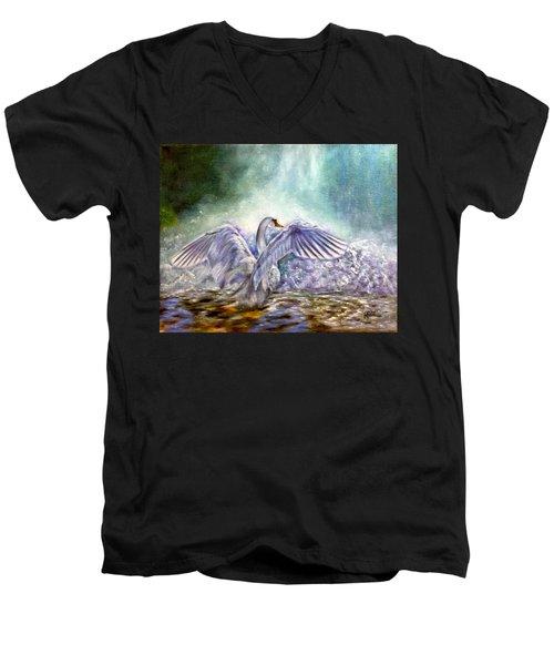 The Swan's Song Men's V-Neck T-Shirt