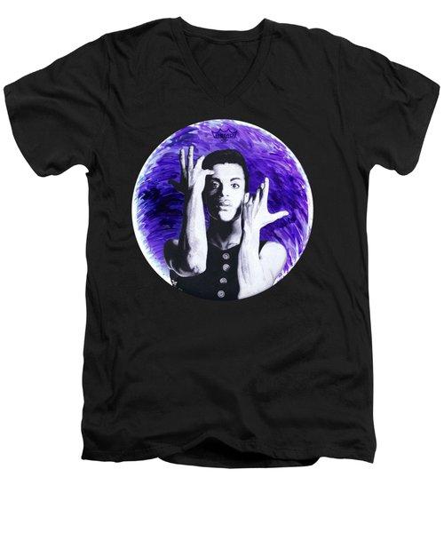 The Symbol Men's V-Neck T-Shirt