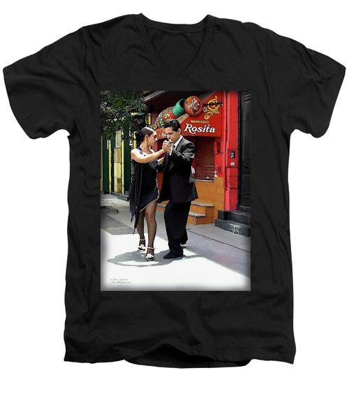 The Tango Men's V-Neck T-Shirt