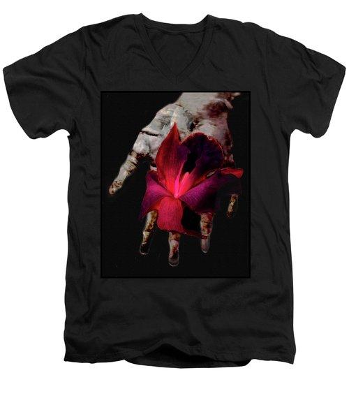 The Test Of Time Men's V-Neck T-Shirt