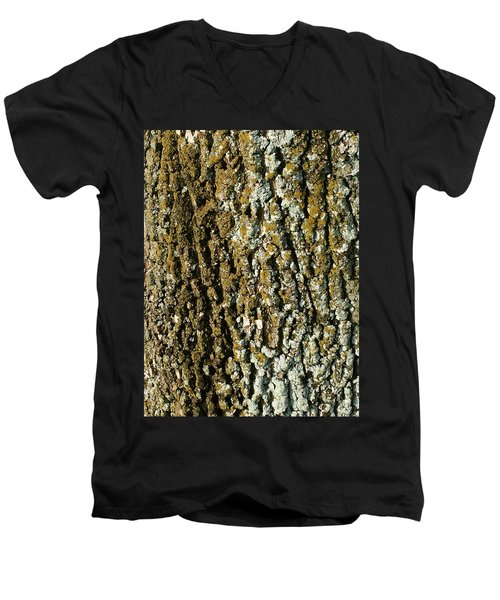 The Texture Is In The Trees2 Men's V-Neck T-Shirt
