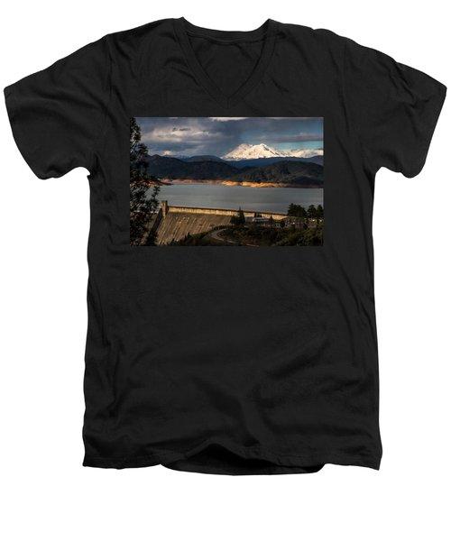 The Three Shasta's Men's V-Neck T-Shirt