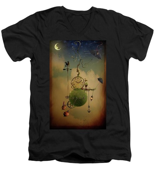 The Time Chasers Men's V-Neck T-Shirt