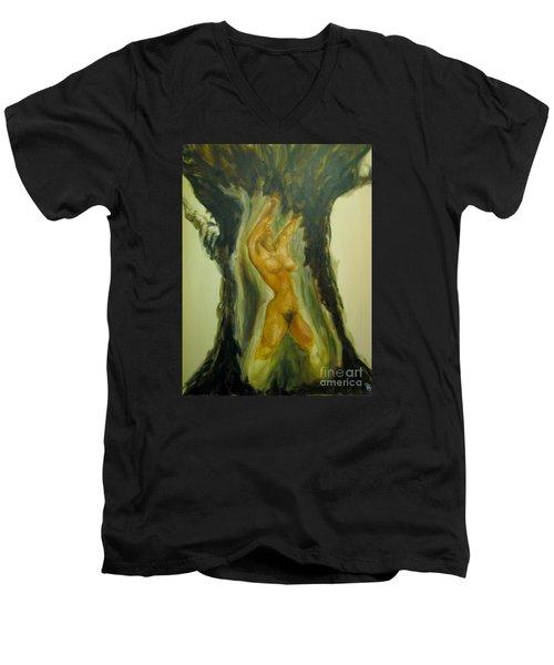 The Tree Oflife Men's V-Neck T-Shirt