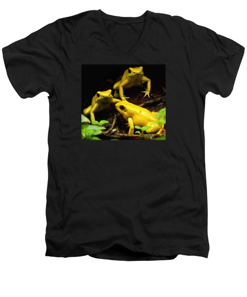 The Untouchables Men's V-Neck T-Shirt by David Gilbert
