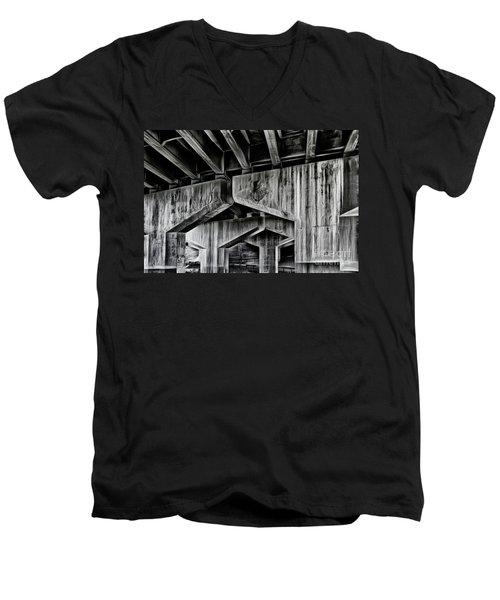 The Urban Jungle Men's V-Neck T-Shirt