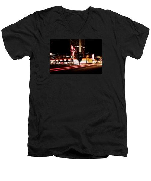 The Varsity Men's V-Neck T-Shirt