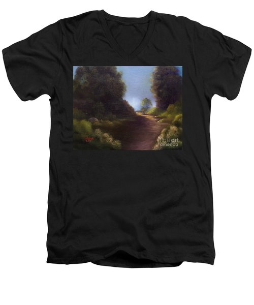 The Walk Home Men's V-Neck T-Shirt