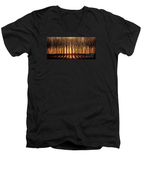 The Walnut Grove Men's V-Neck T-Shirt