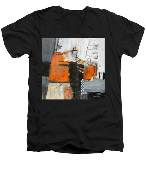 The Way Out Men's V-Neck T-Shirt by Ron Stephens