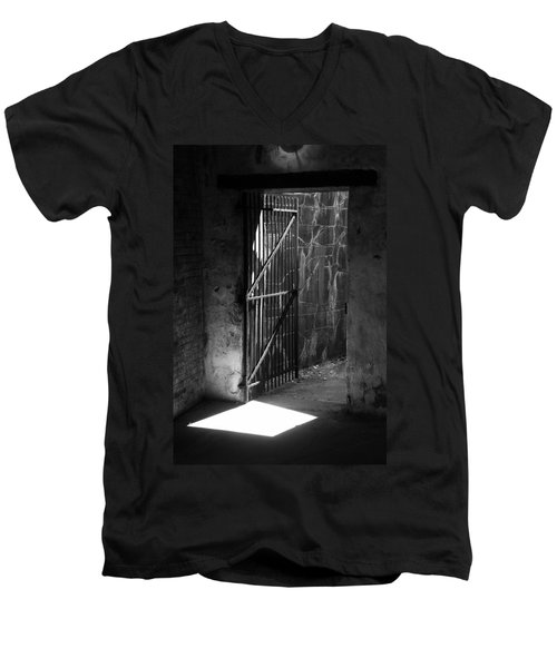 The Weathered Wall Men's V-Neck T-Shirt