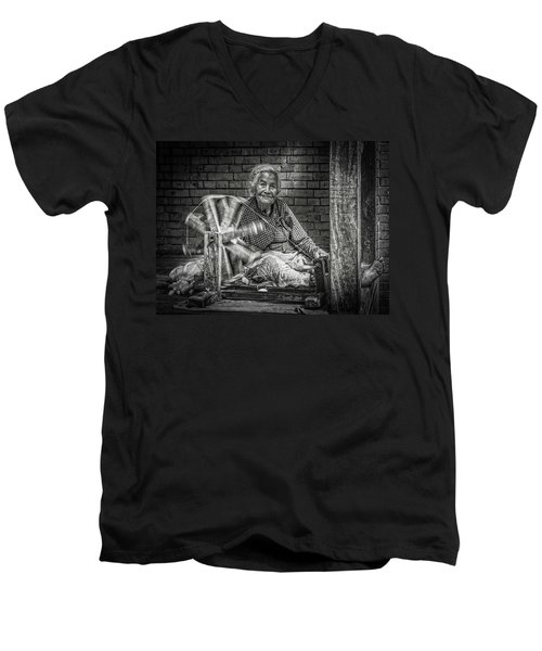 The Weaver Men's V-Neck T-Shirt